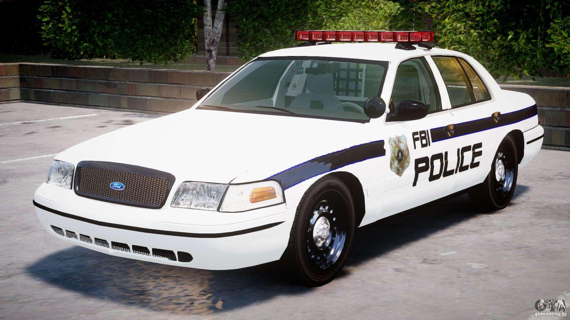 ford crown victoria 2003 fbi police v2 0 els for gta 4. Black Bedroom Furniture Sets. Home Design Ideas