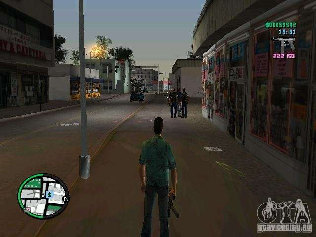 HUD from GTA IV 2 2 RC1 for GTA Vice City