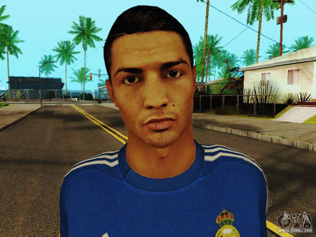 Image Result For Gta  Cristiano Ronaldo Mod Download