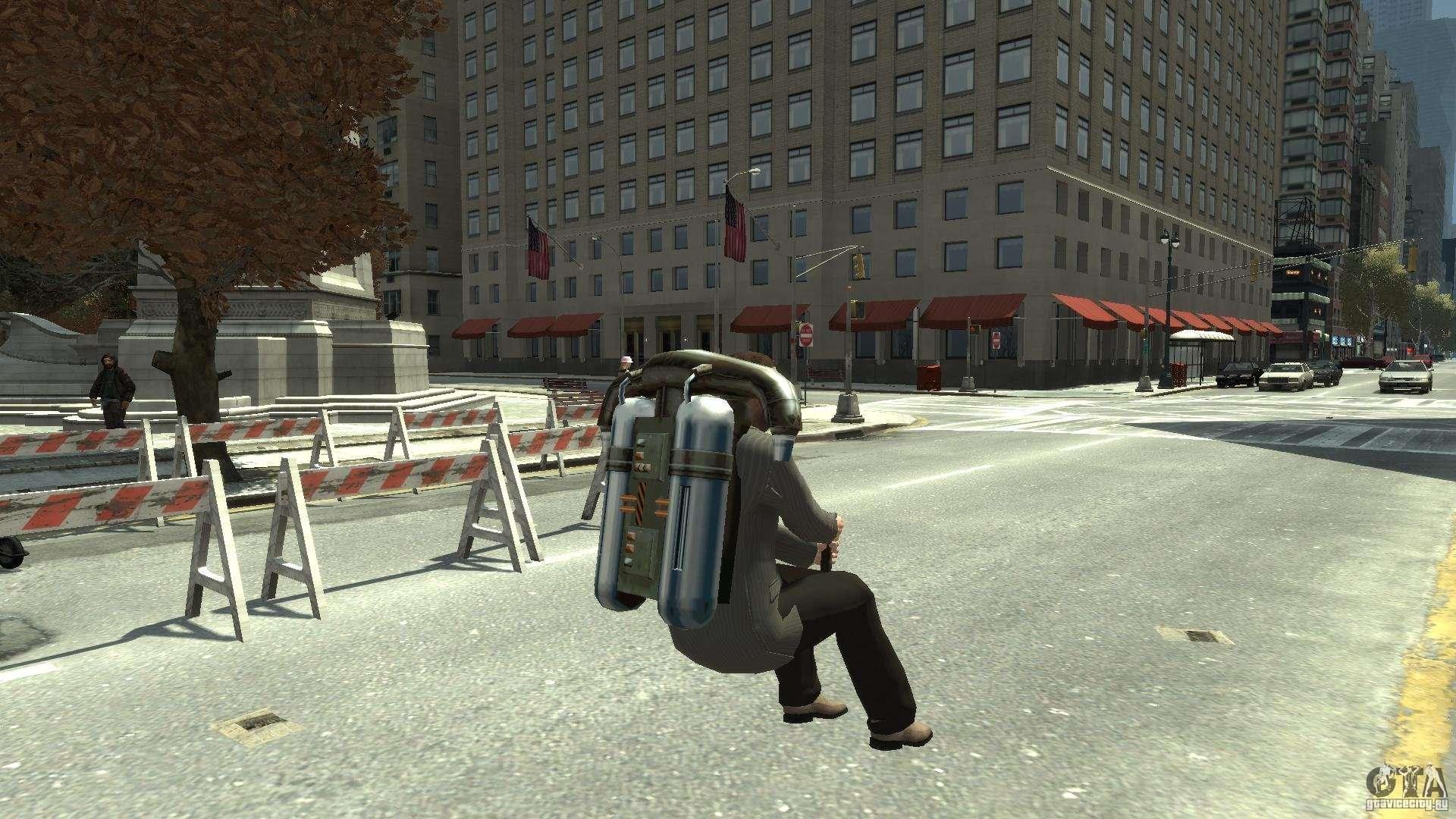 Jetpack for GTA 4 righ...
