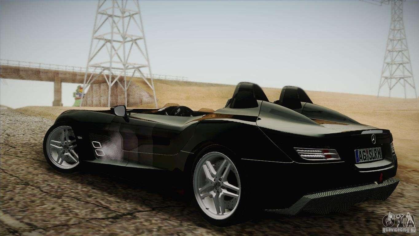 Mercedes benz slr stirling moss 2005 for gta san andreas for Mercedes benz stirling moss