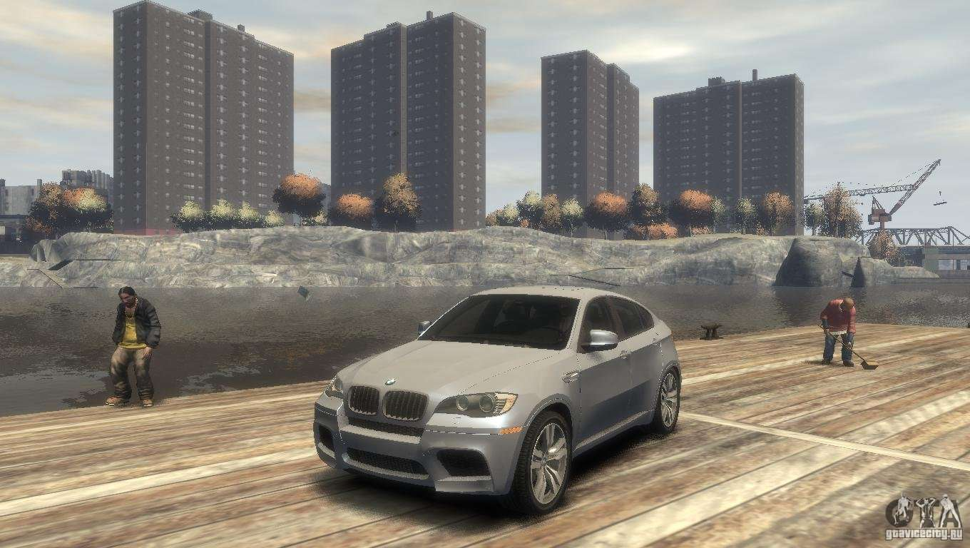 Bmw X6m For Gta 4