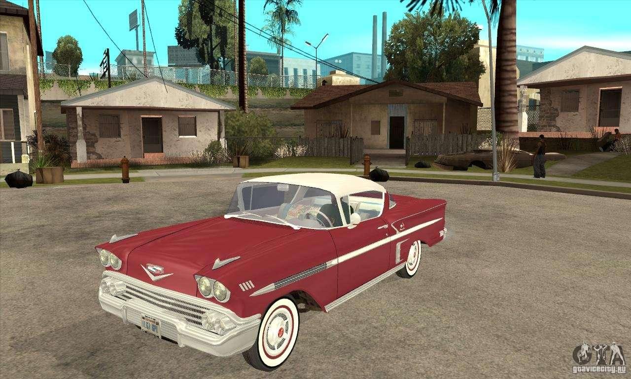 Chevrolet impala 4 door hardtop 1963 for gta san andreas - Chevrolet Impala 1958 For Gta San Andreas