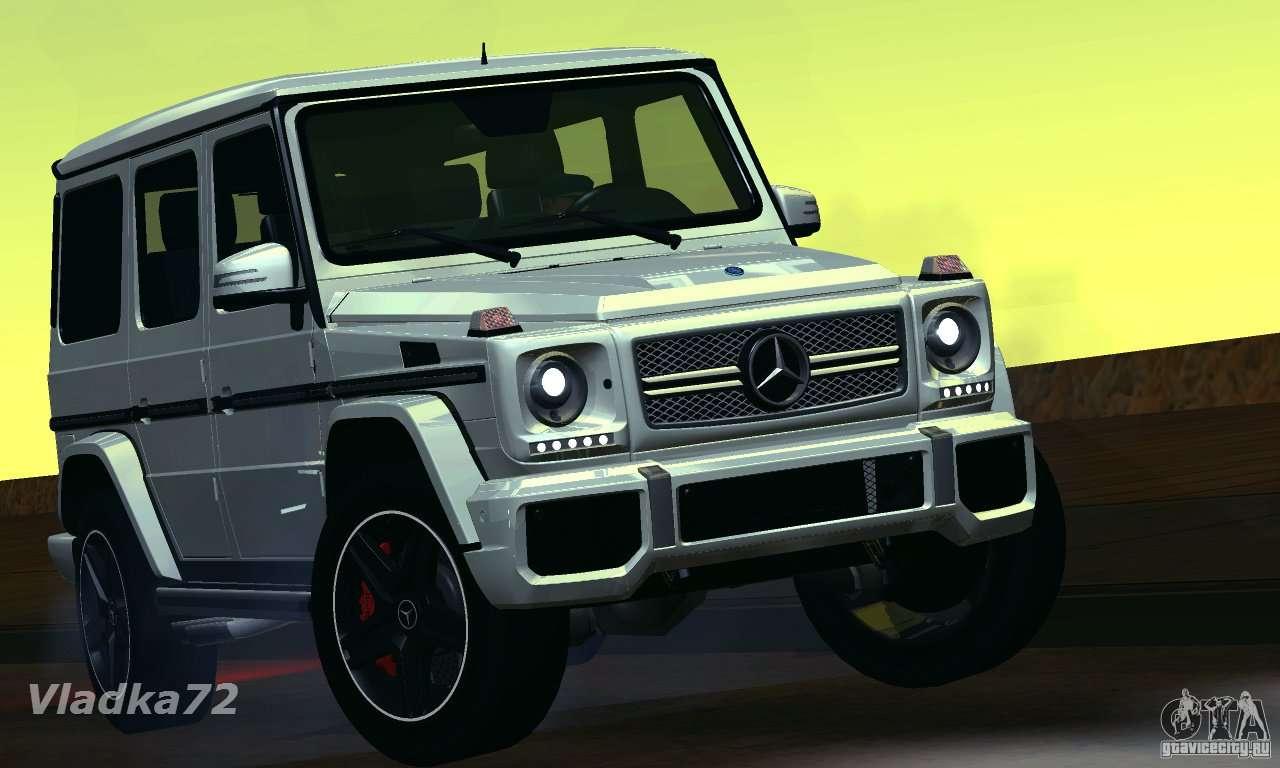 mercedes benz g65 amg 2013 for gta san andreas - Mercedes G65 Amg 66