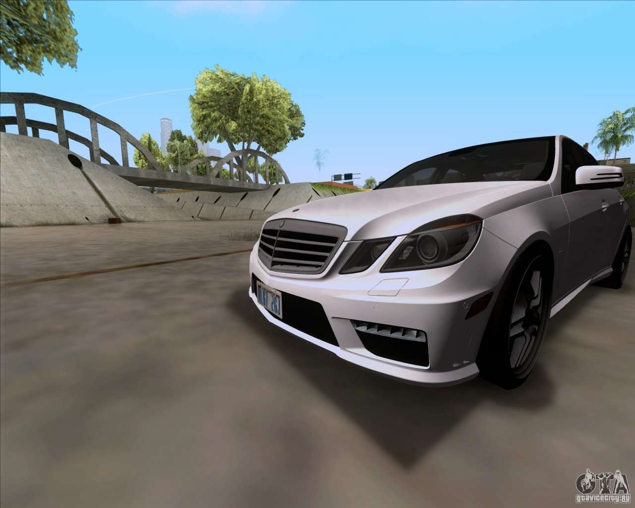 Mercedes benz e63 amg v12 tt black revel for gta san andreas for V12 mercedes benz