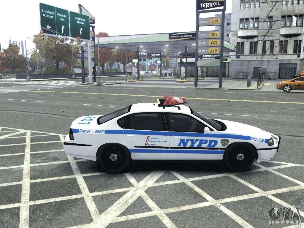 Chevrolet impala nycpd police 2003 for gta 4