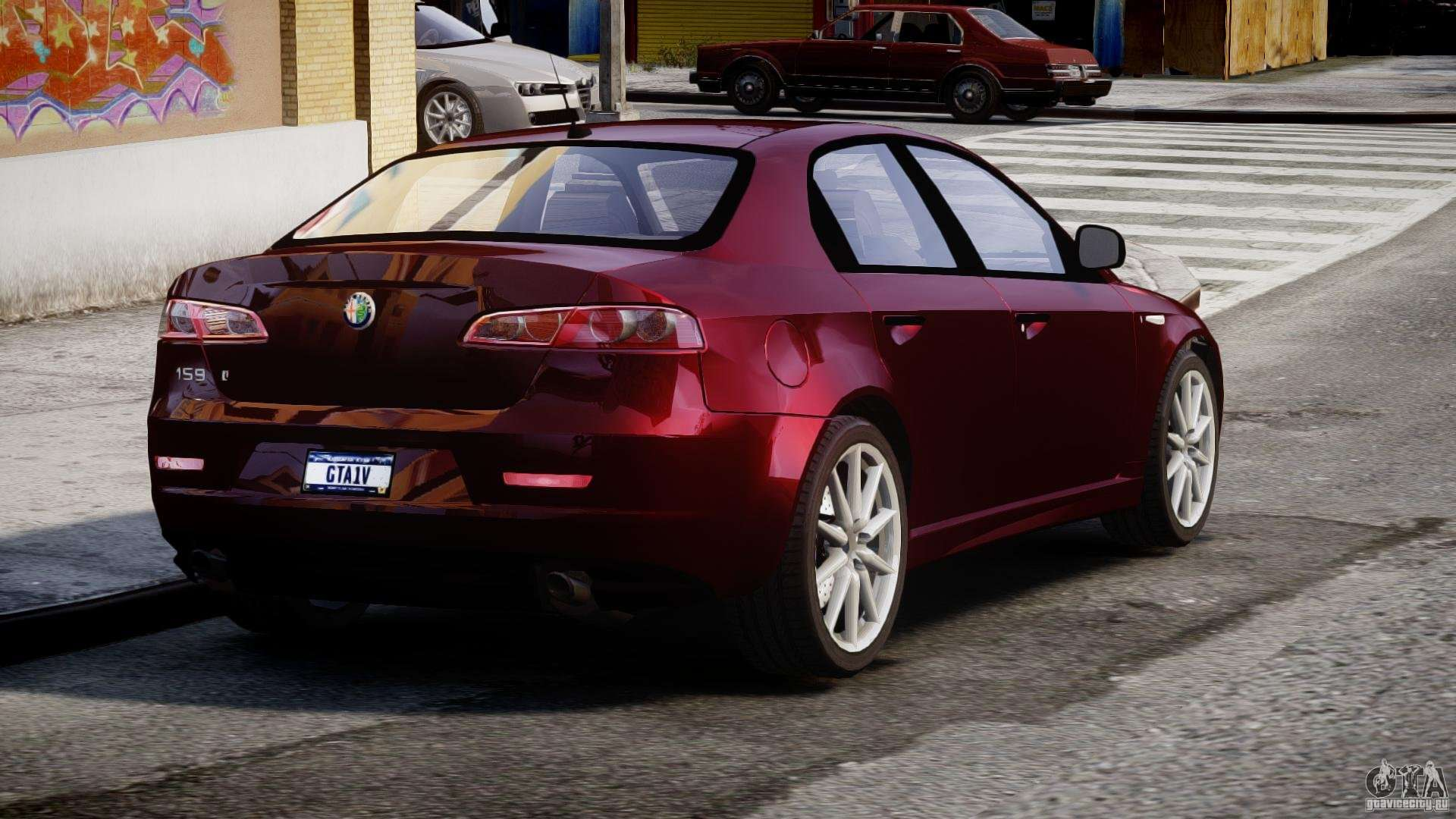 alfa romeo 159 li for gta 4. Black Bedroom Furniture Sets. Home Design Ideas
