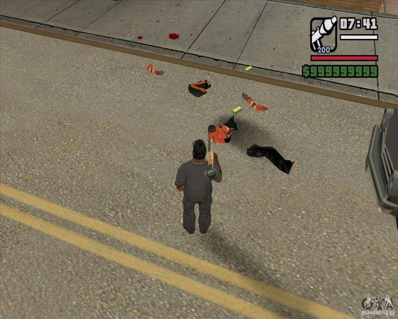 Real Ragdoll Mod Update 2011 09 15 for GTA San Andreas