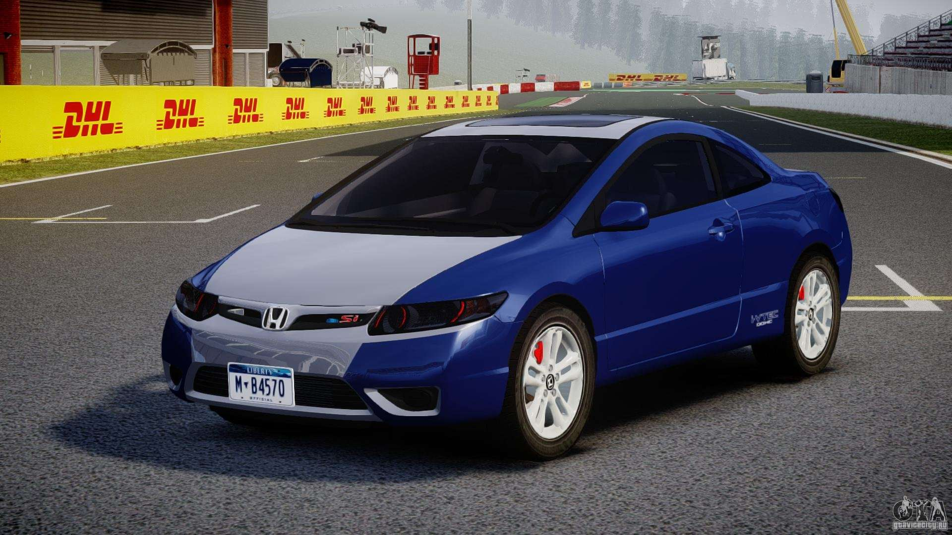2013 Honda Civic Sedan >> Honda Civic Si Coupe 2006 v1.0 for GTA 4