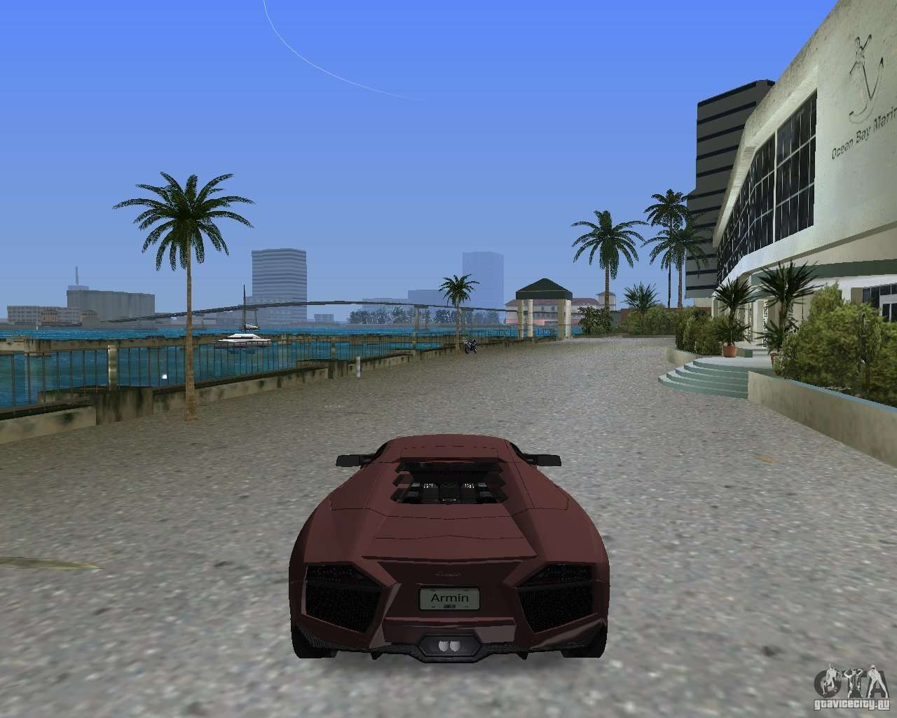 Lamborghini Reventon For GTA Vice City Left View