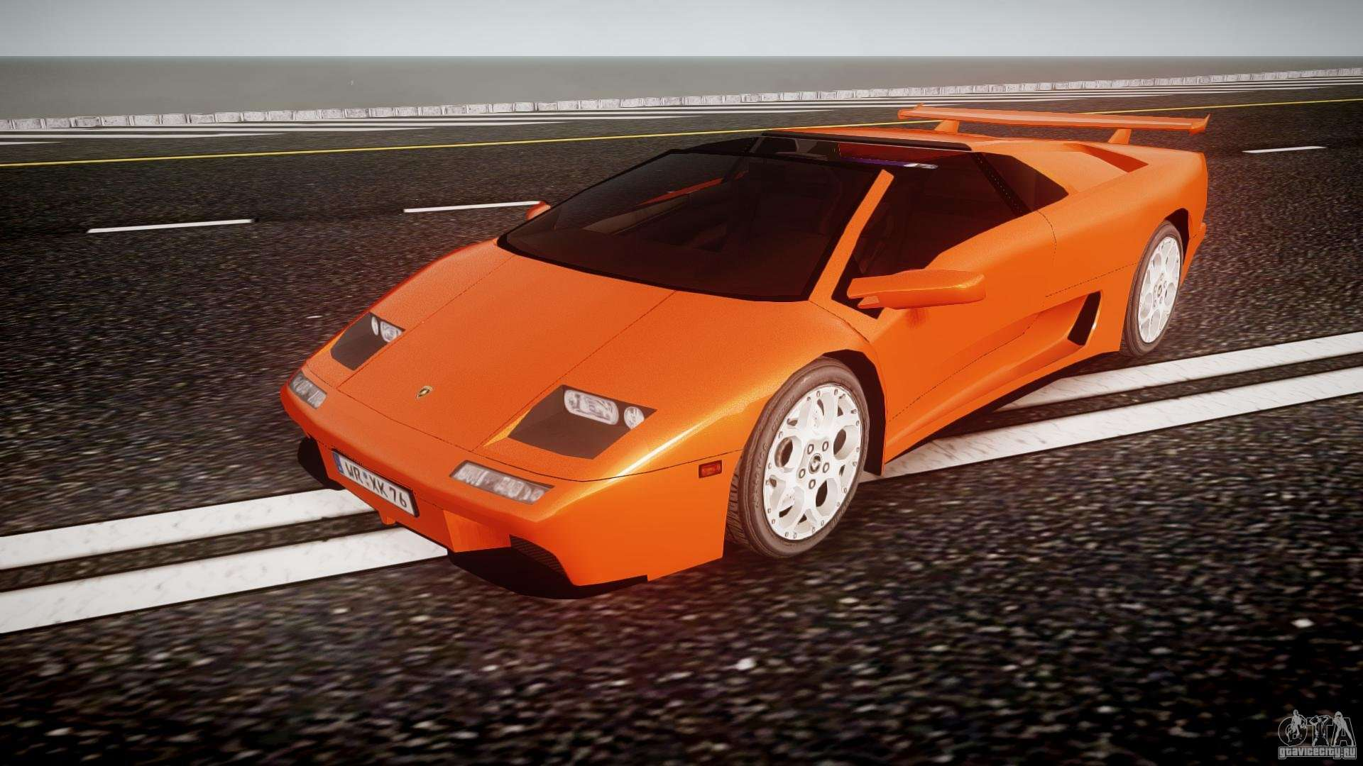 Lamborghini Diablo Vt 1990 For Gta 4