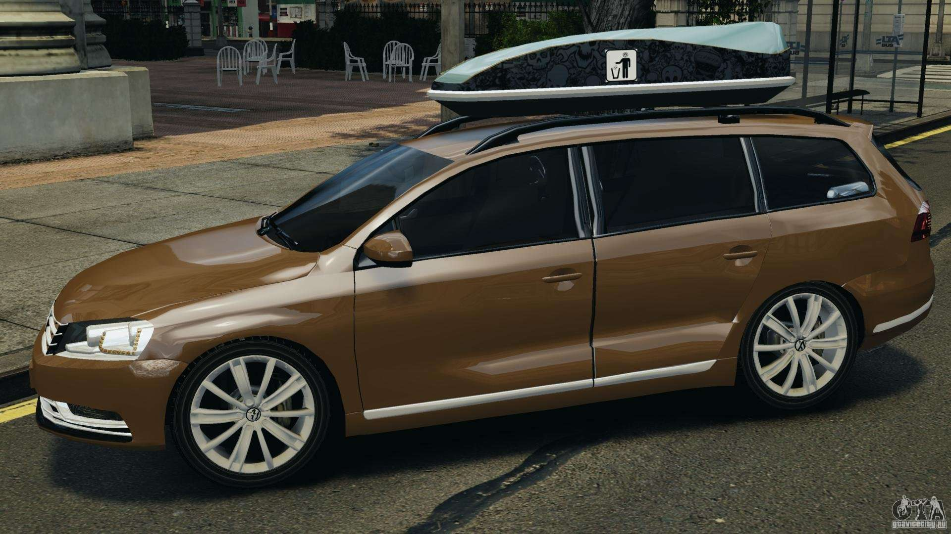 volkswagen passat variant b7 for gta 4. Black Bedroom Furniture Sets. Home Design Ideas