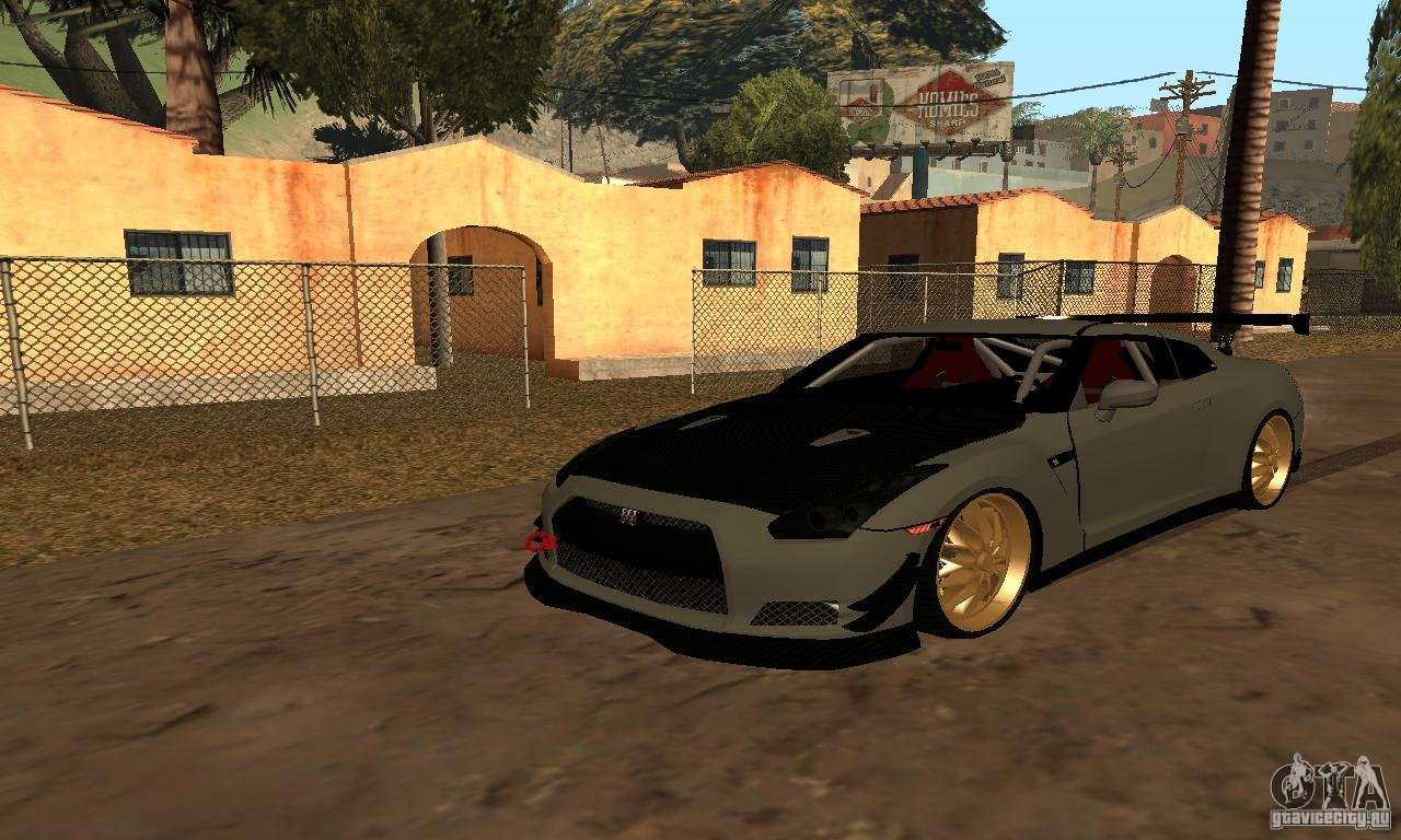 nissan gtr r35 tuning for gta san andreas. Black Bedroom Furniture Sets. Home Design Ideas