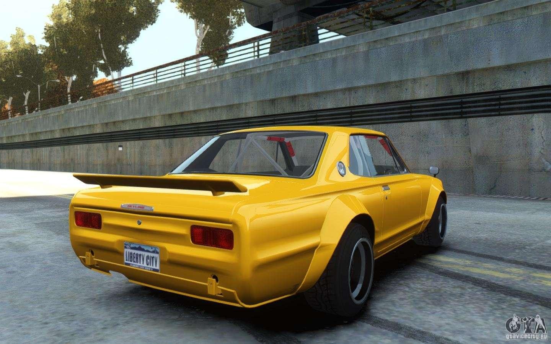Nissan Skyline 2000GT-R C10 Speedhunters for GTA 4