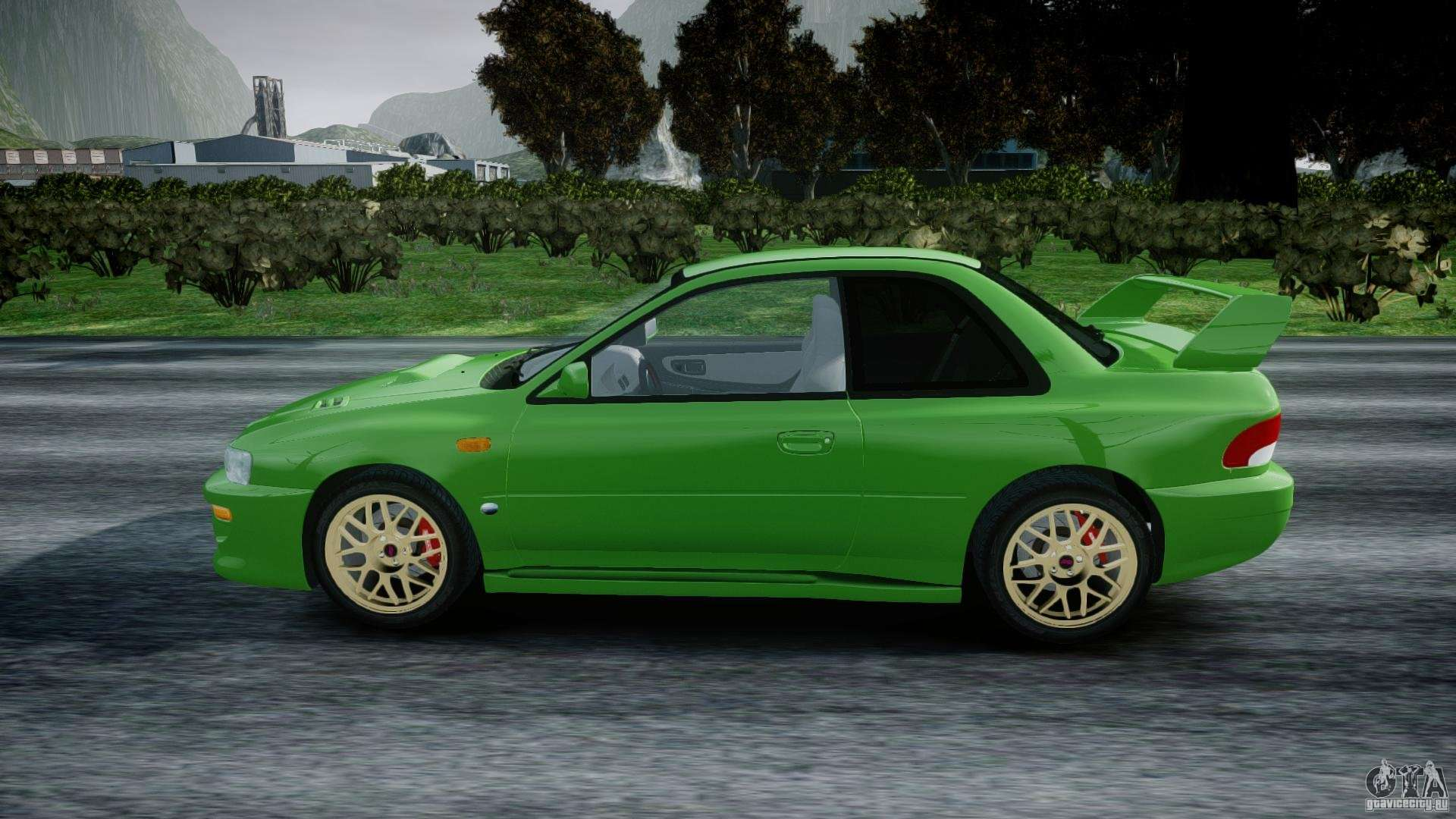 Subaru Impreza 22b 1998 Final For Gta 4