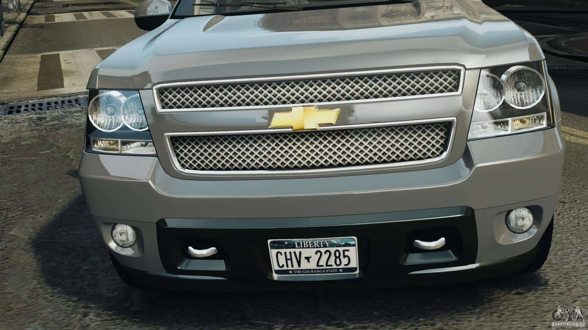 Chevrolet suburban gmt900 2008 v1 0 for gta 4 inner view