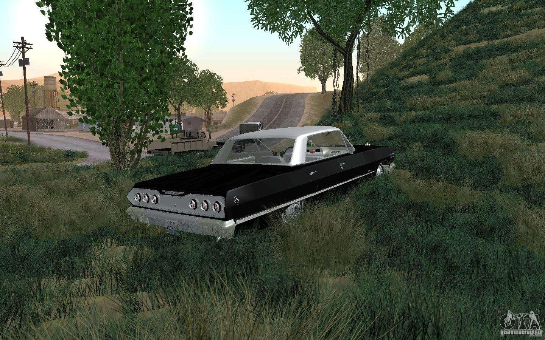 Chevrolet impala 4 door hardtop 1963 for gta san andreas - Chevrolet Impala 4 Door Hardtop 1963 For Gta San Andreas Back View