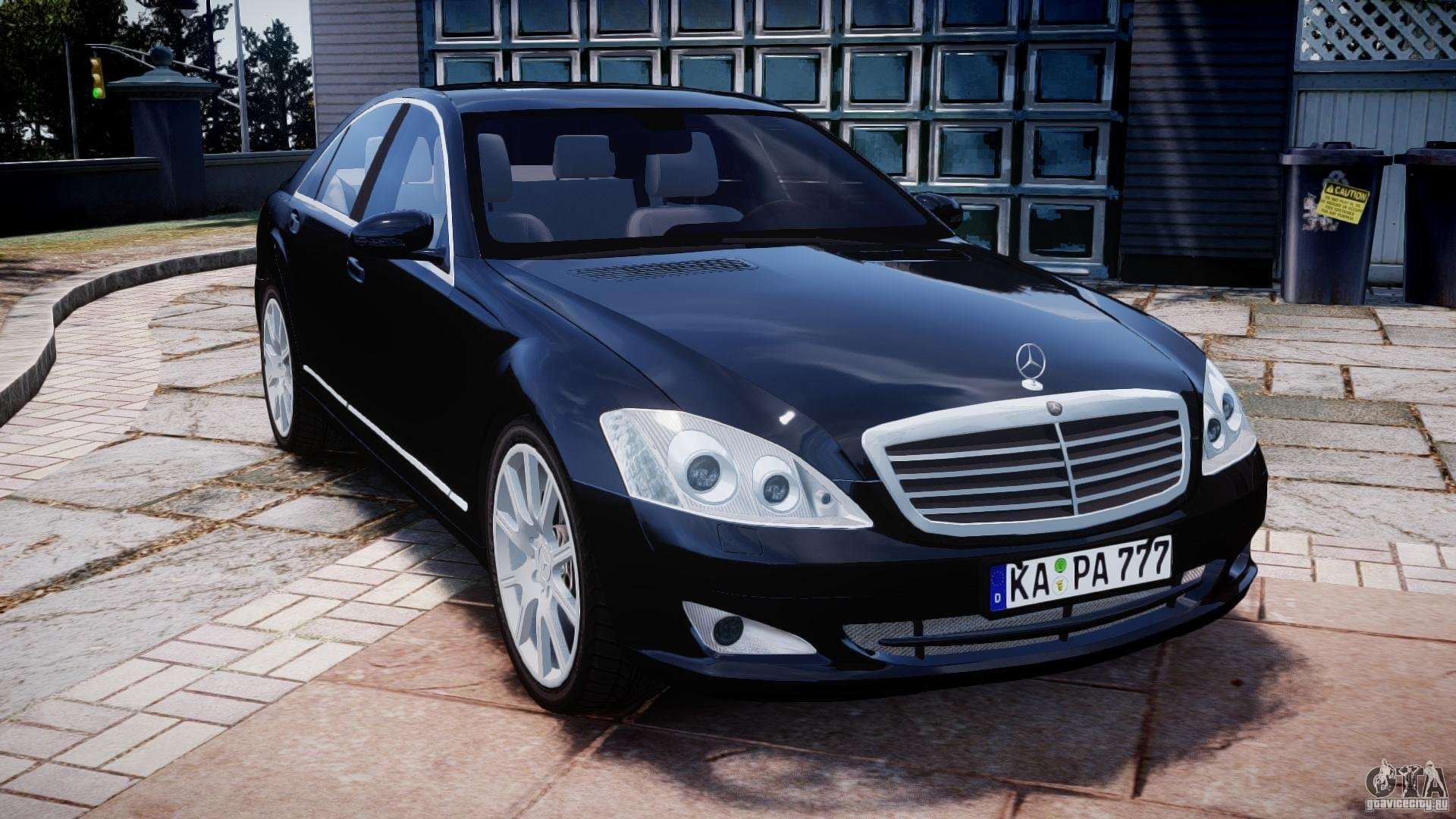 Mercedes benz s600 w221 for gta 4 for S600 mercedes benz