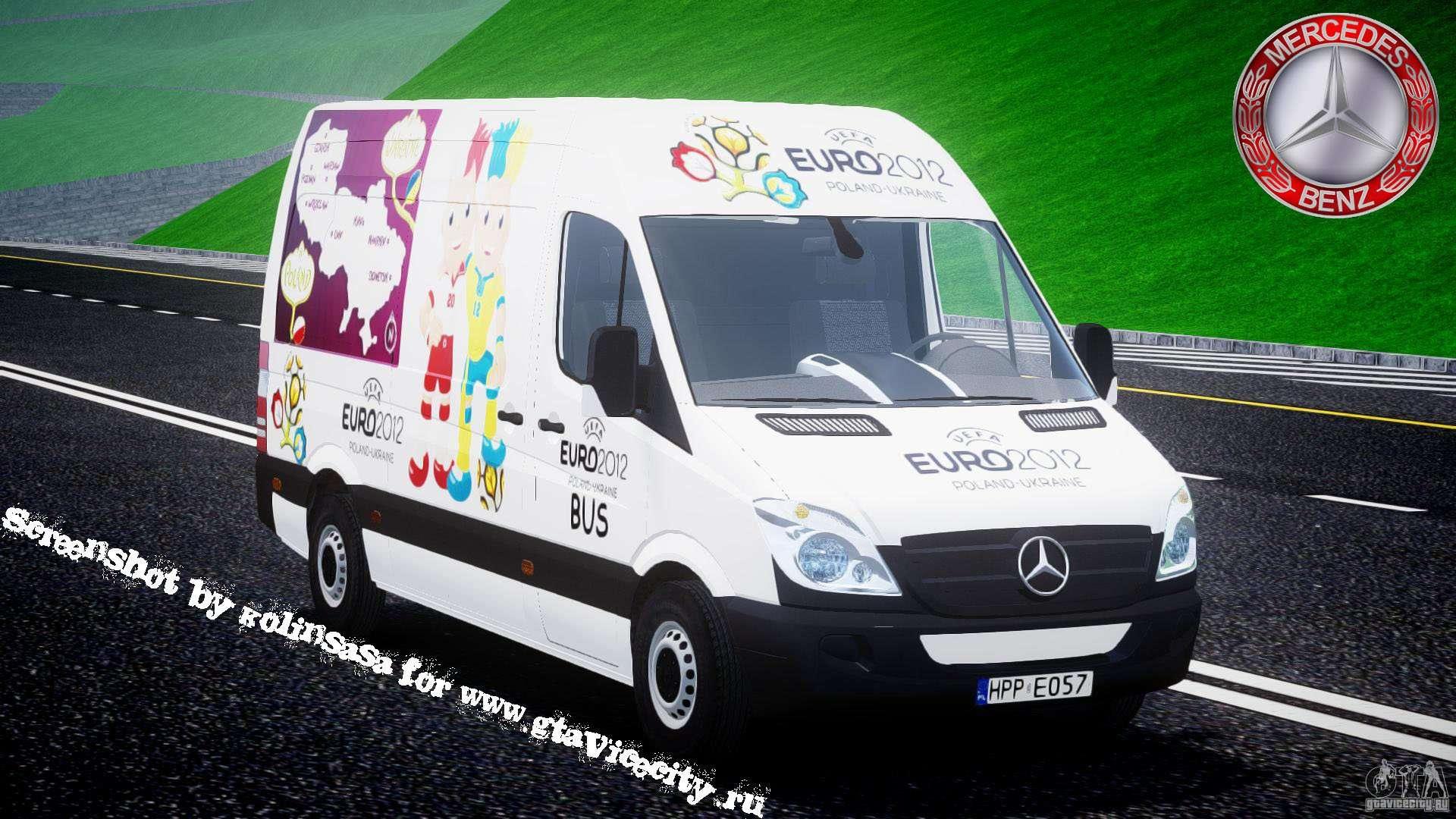 Mercedes benz sprinter euro 2012 for gta 4 for Mercedes benz euro