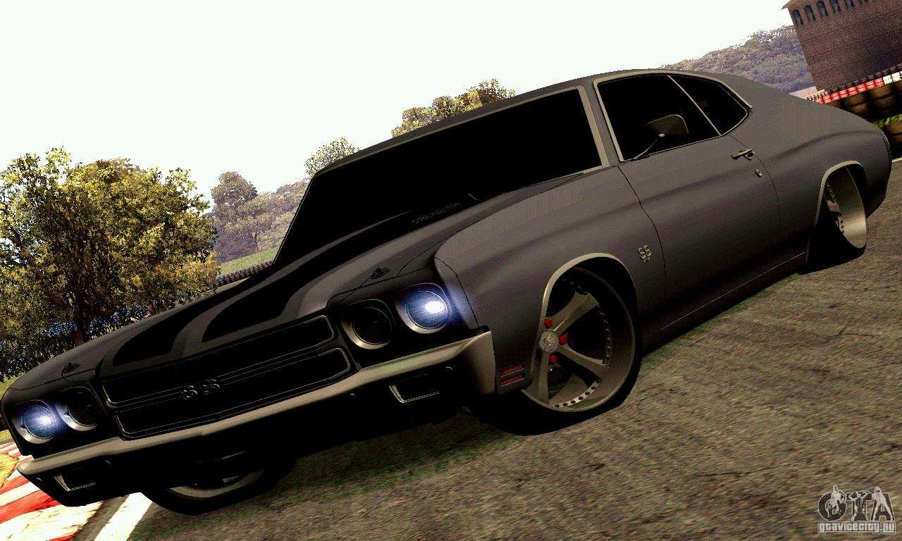 Muscle Cars Under 5k >> Chevrolet Chevelle 1970 for GTA San Andreas