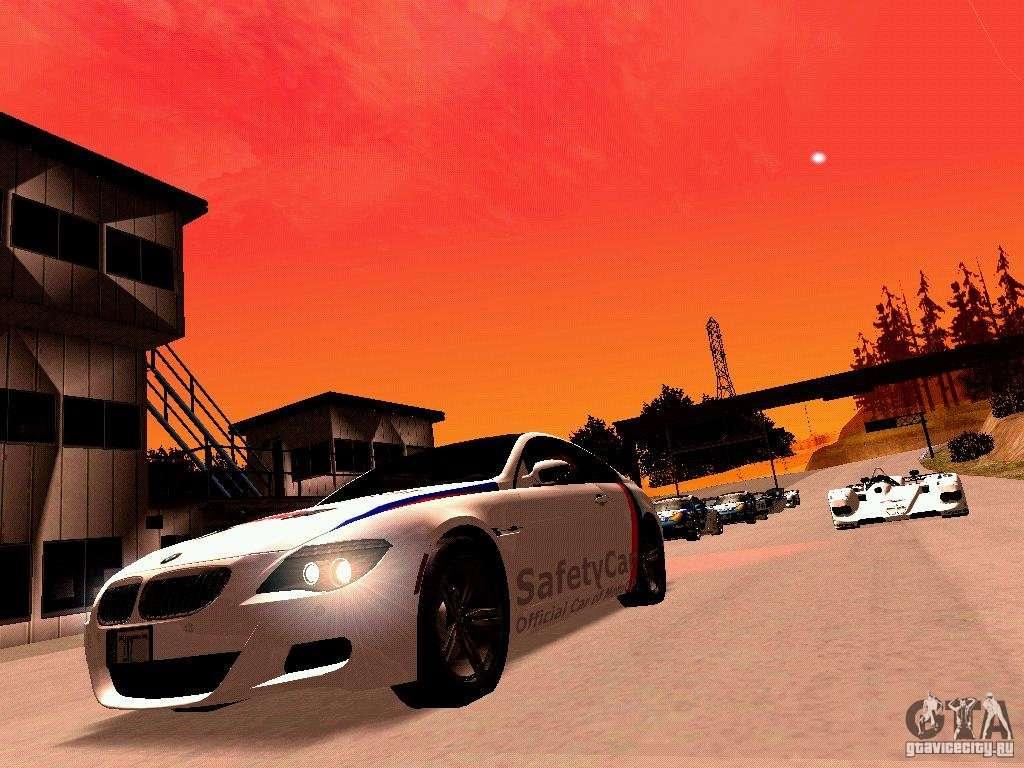 BMW M6 MotoGP SafetyCar for GTA San Andreas