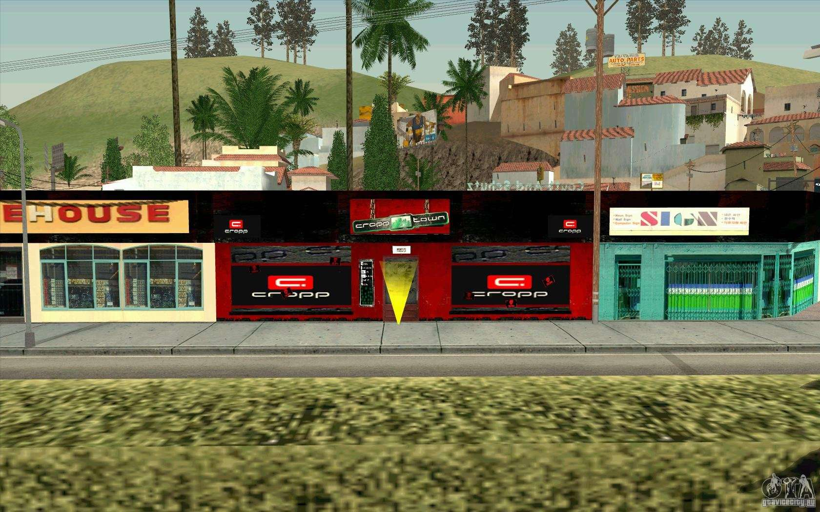Clothing stores in gta 4 map