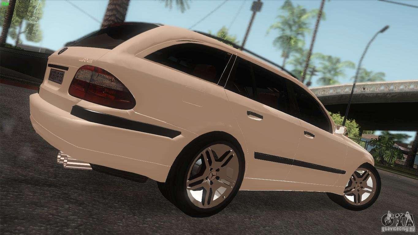 Mercedes benz e55 amg for gta san andreas for Mercedes benz e55