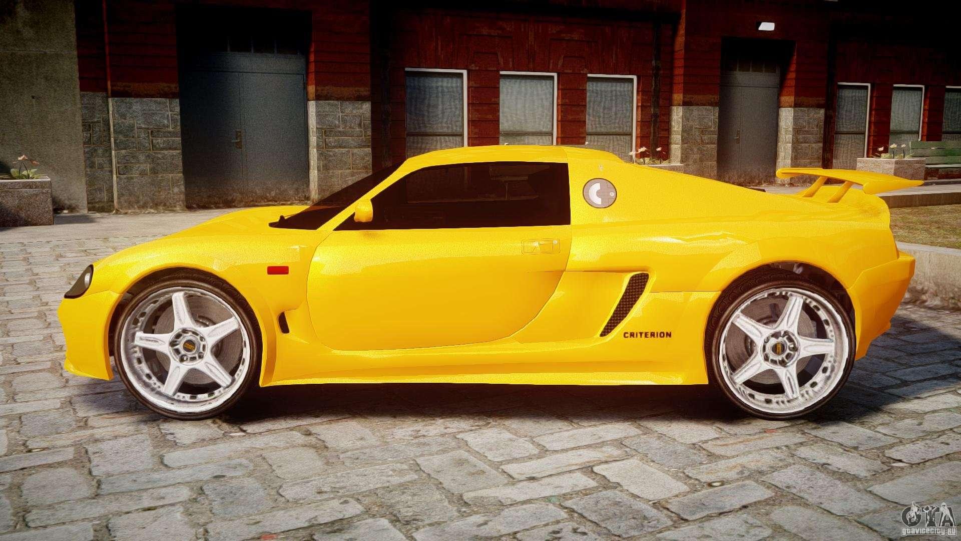 Watson R Turbo Roadster For Gta 4
