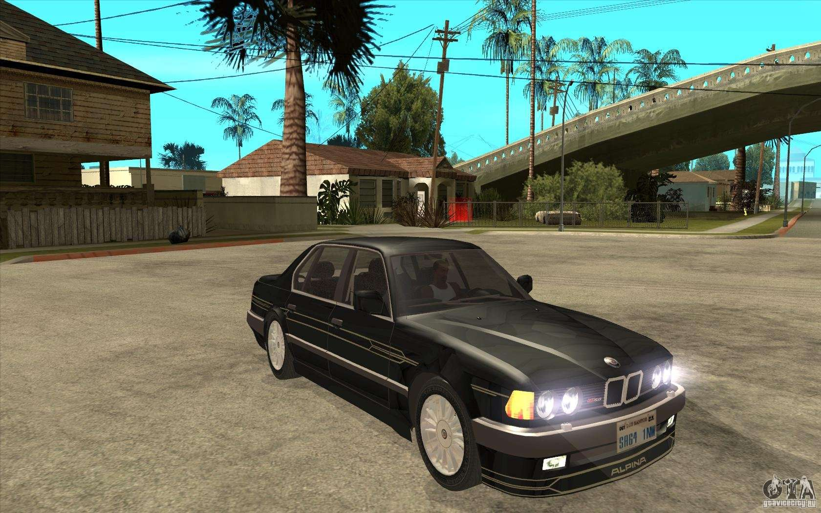 bmw e32 7 er alpina b12 for gta san andreas. Black Bedroom Furniture Sets. Home Design Ideas