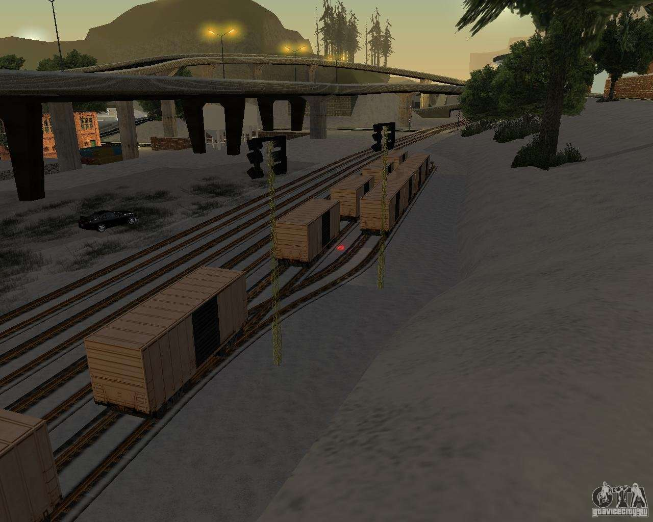 New railway station for GTA San Andreas