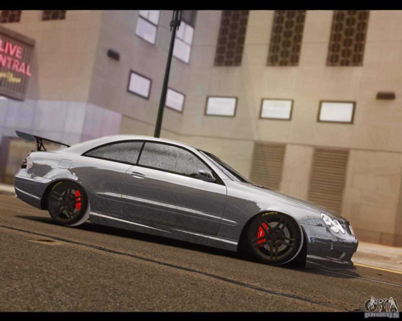 Mercedes benz clk 63 amg black series for gta 4 for Mercedes benz e series amg