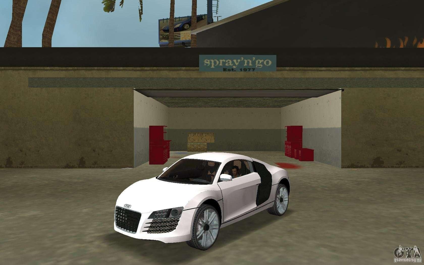Audi R8 Le Mans for GTA Vice City