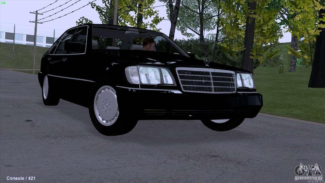 Mercedes Benz 600sel For Gta San Andreas