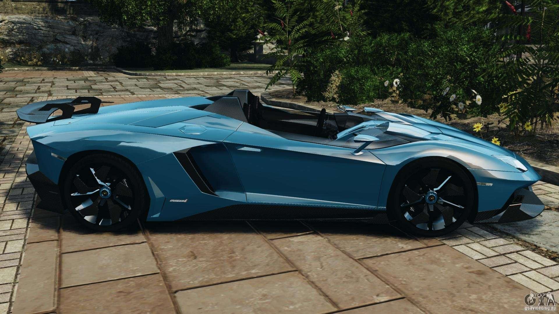 Lamborghini Aventador J 2012 V1 2 For Gta 4
