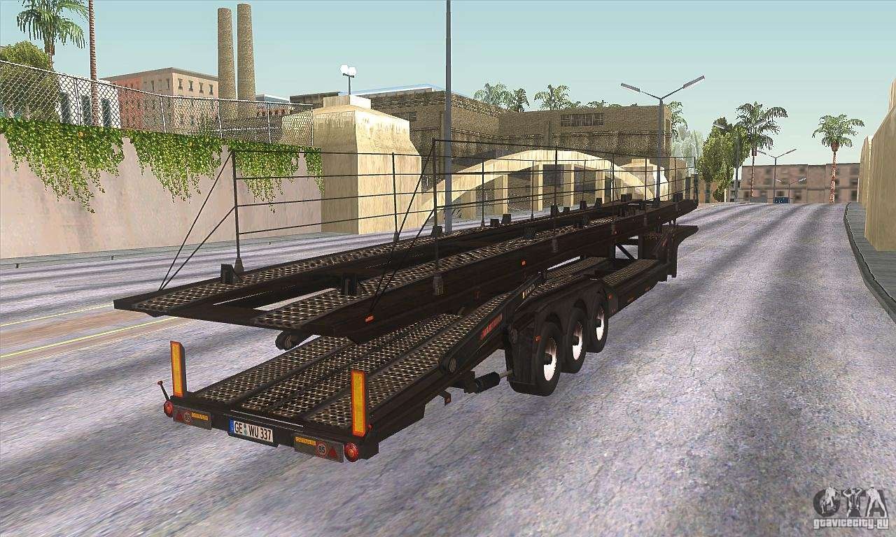The trailer-truck for GTA San Andreas