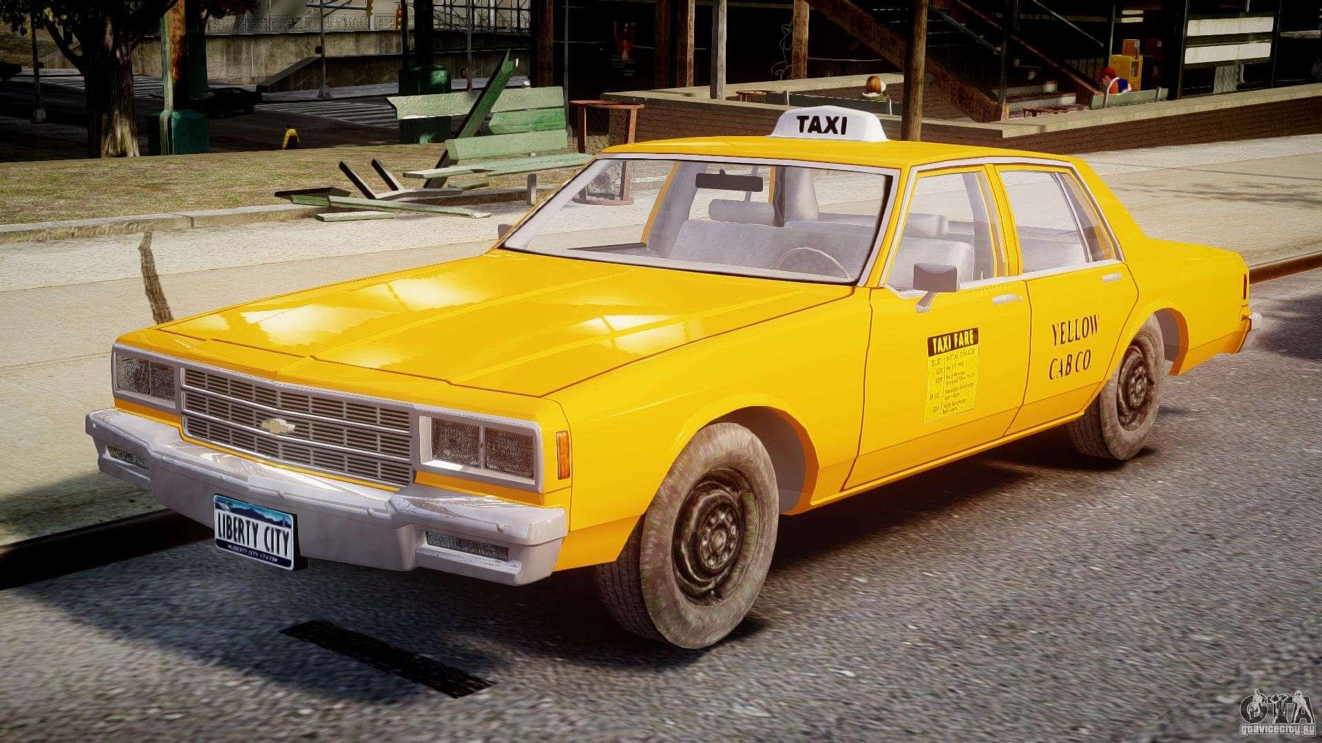 Chevrolet Impala Taxi V2 0 For Gta 4