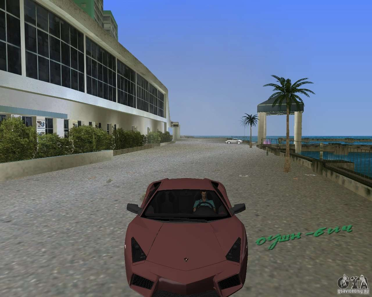 Lamborghini Reventon For GTA Vice City Back Left View
