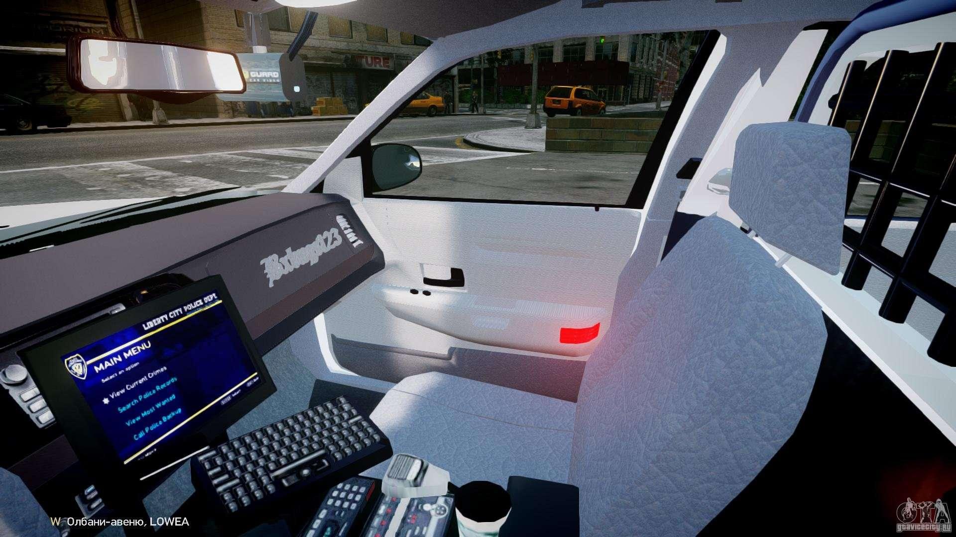 Ford Crown Victoria 2003 FBI Police V2 0 [ELS] for GTA 4