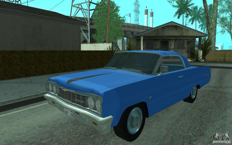 Chevrolet impala 4 door hardtop 1963 for gta san andreas - Chevrolet Impala Ss 1964 For Gta San Andreas Left View