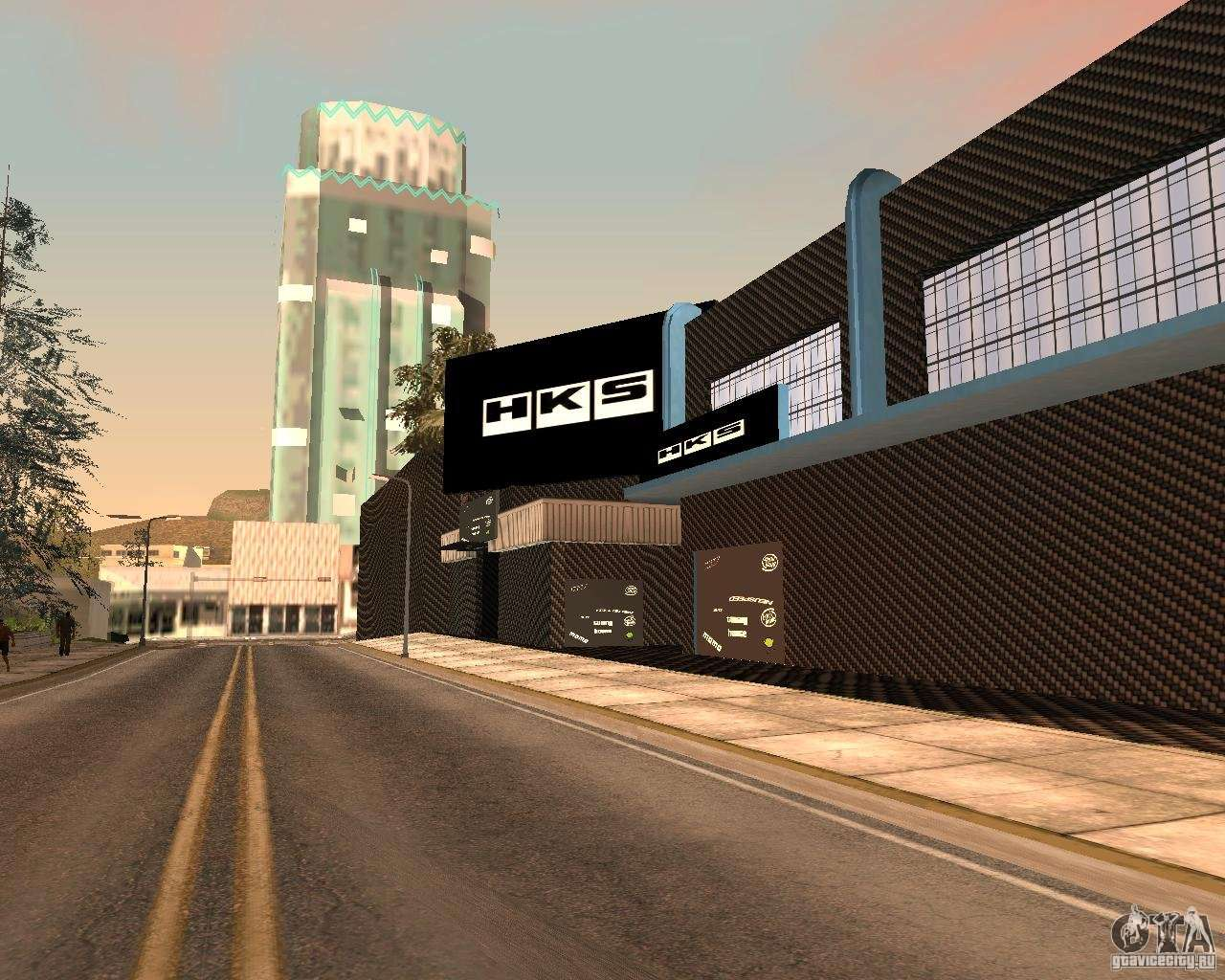 New hks style tuning garage for gta san andreas for Garage tuning toulouse