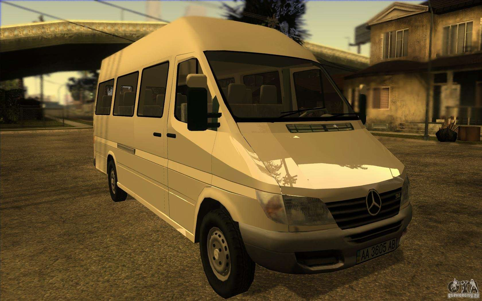 Mercedes benz sprinter 315 cdi for gta san andreas for Mercedes benz gta