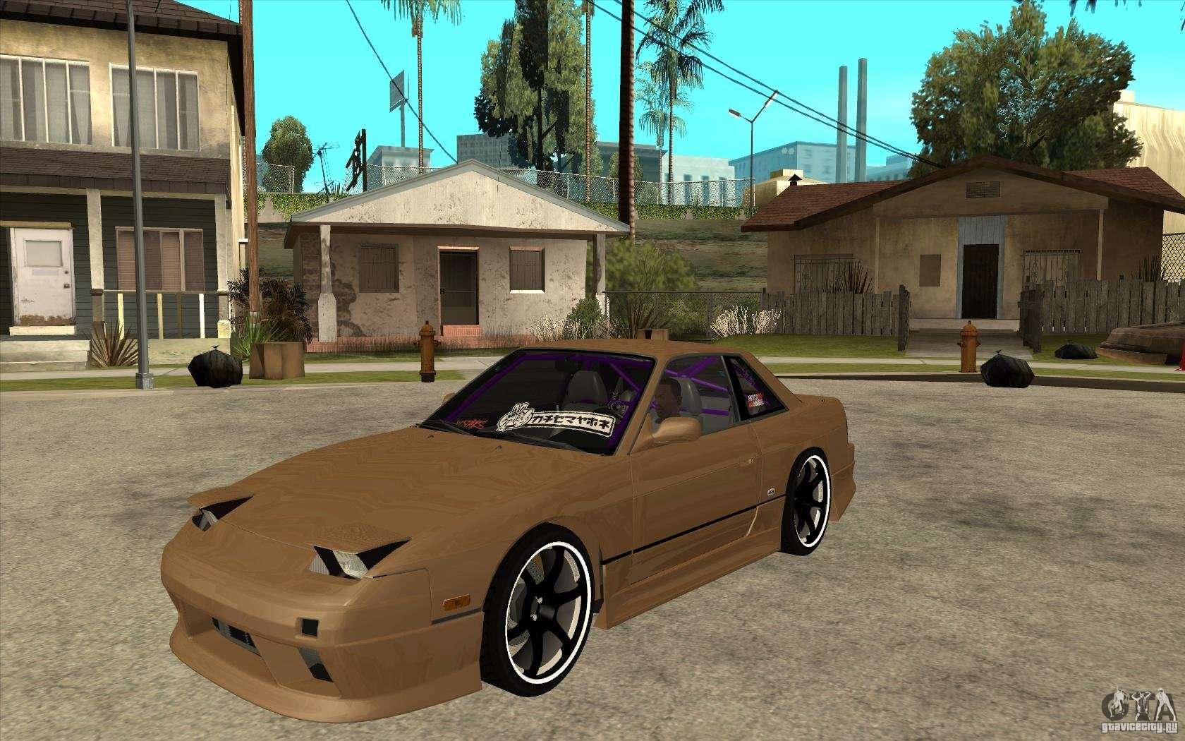 Nissan Silvia S13 Onevia Tuned For Gta San Andreas