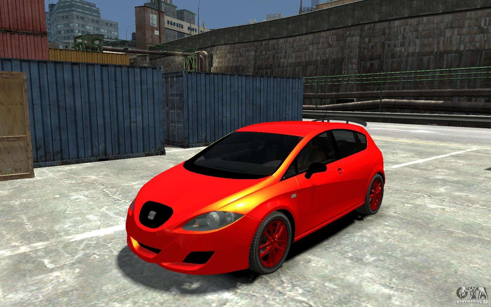 seat leon cupra light tuning for gta 4. Black Bedroom Furniture Sets. Home Design Ideas