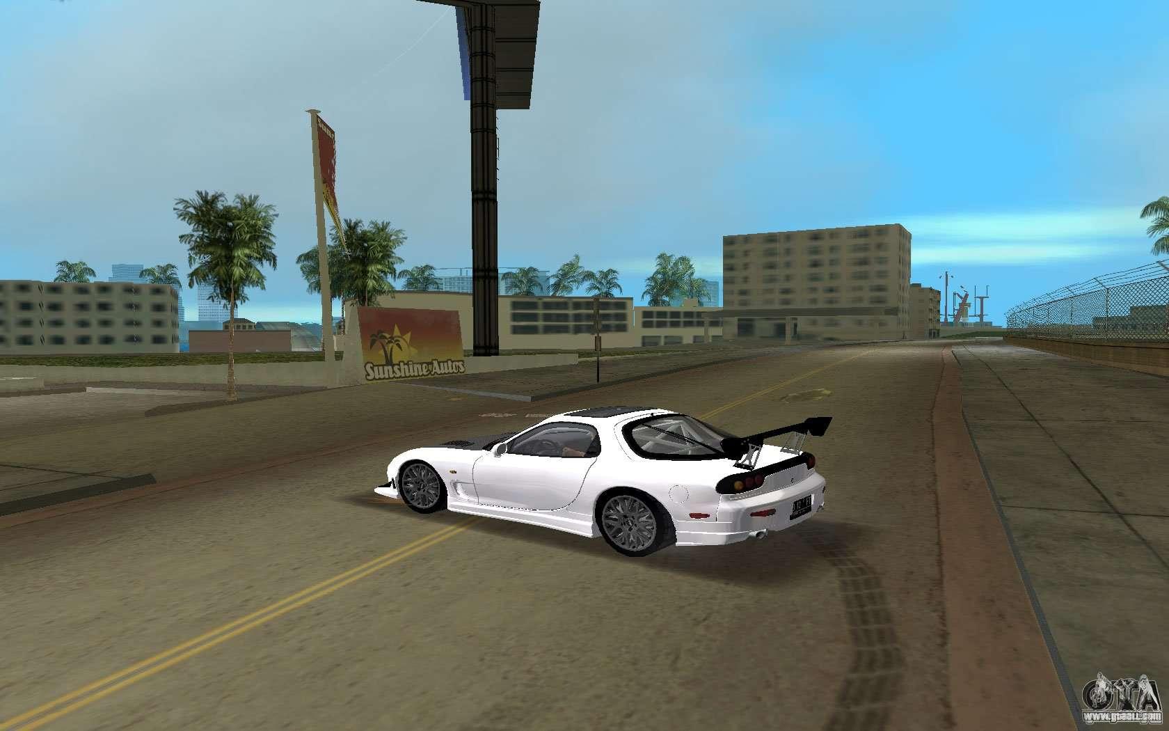 Mazda RX-7 FD3S for GTA Vice City