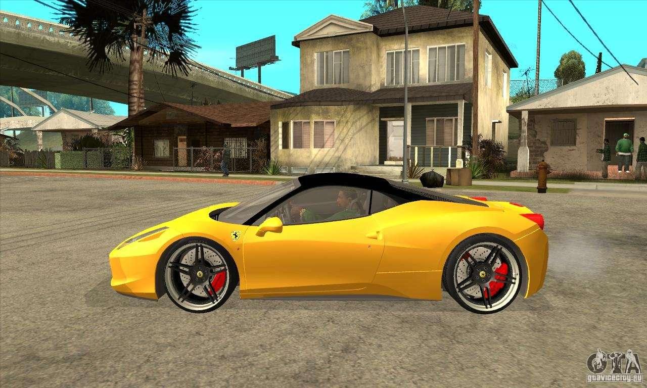 Ferrari 458 Italia Custom For Gta San Andreas