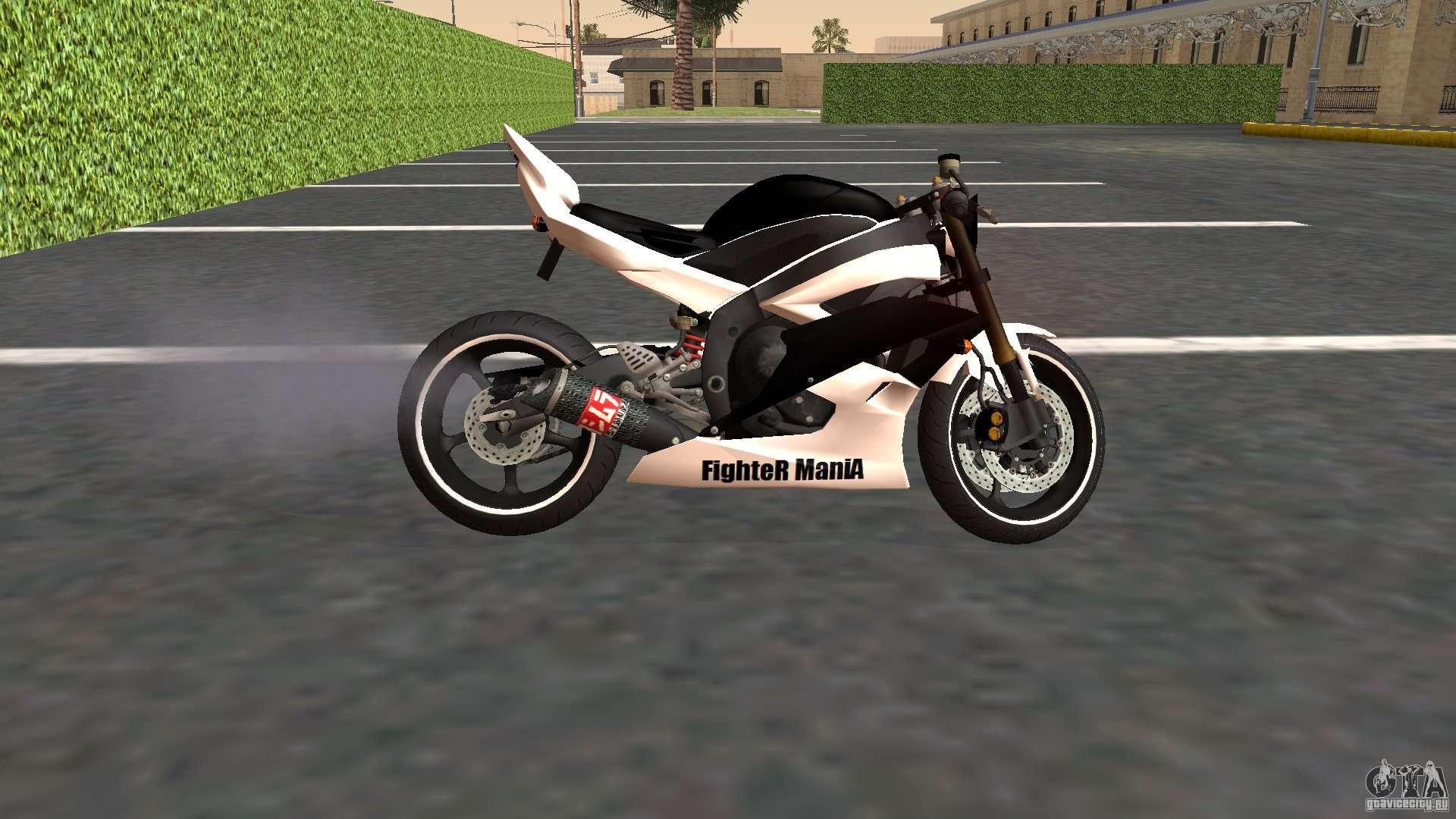 Yamaha YZF-R6 Street Fighter for GTA San Andreas  Yamaha YZF-R6 S...
