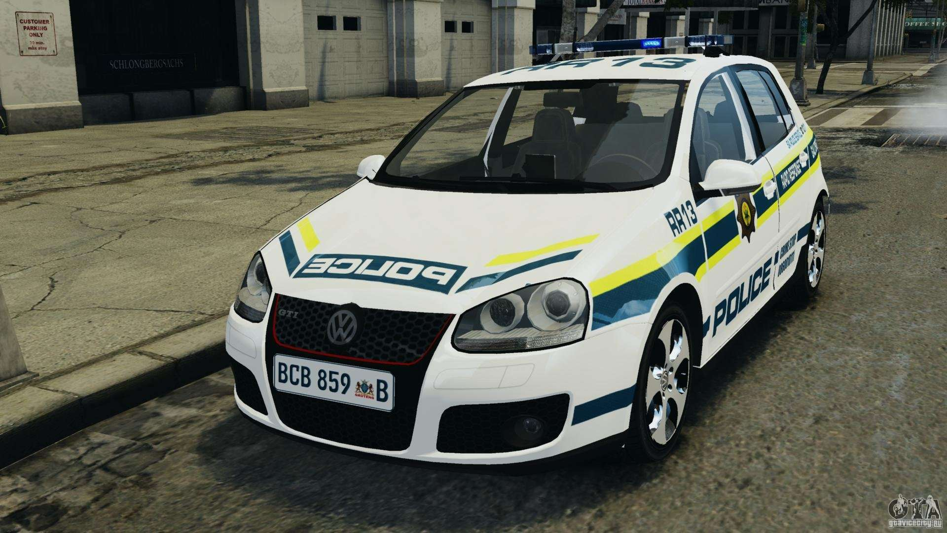 volkswagen golf 5 gti south african police els for gta 4. Black Bedroom Furniture Sets. Home Design Ideas