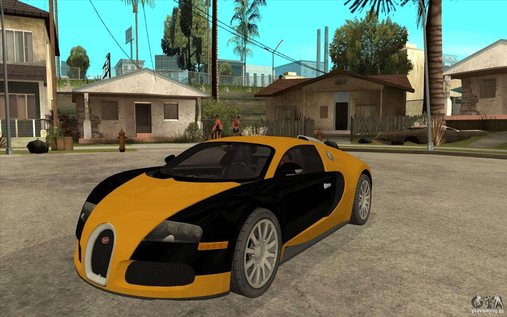 bugatti veyron v1 0 for gta san andreas. Black Bedroom Furniture Sets. Home Design Ideas
