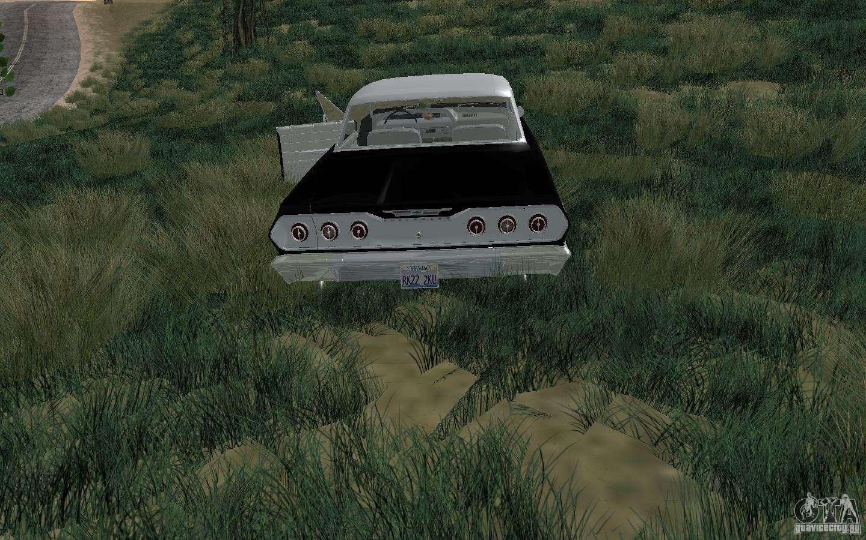 Chevrolet impala 4 door hardtop 1963 for gta san andreas - Chevrolet Impala 4 Door Hardtop 1963 For Gta San Andreas Right View