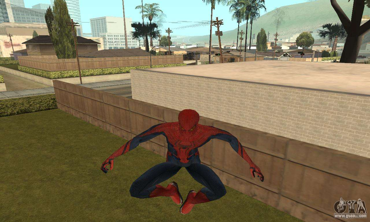 GTA San Andreas The Amazing SpiderMan Mod Mod